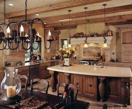 The beauty of a Tuscan Kitchen | my little sweet house - Tuscan Kitchens Images