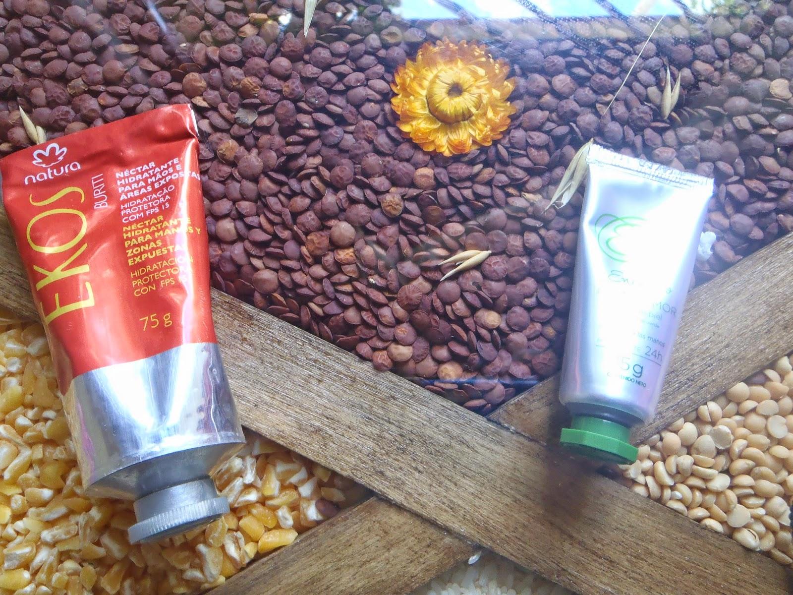 Crema de manos: Natura vs. Avon
