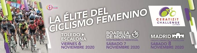 LA CHALLENGE FEMENINA BY LA VUELTA 2020 TENDRÁ 3 ETAPAS