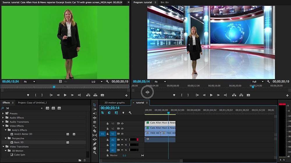 Car mudah software editing Video Adobe Priemer