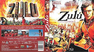 Carátula dvd: Zulú (1963)