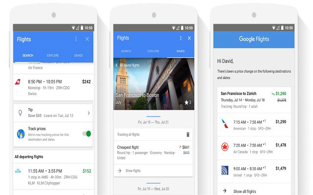 Now book Hotel rooms and Flights from Google Search
