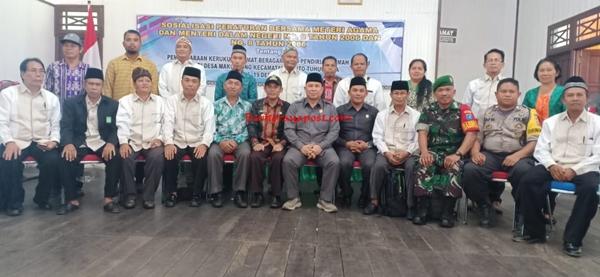 Peraturan Bersama Menteri Untuk Merawat Kesatuan dan Persatuan Umat