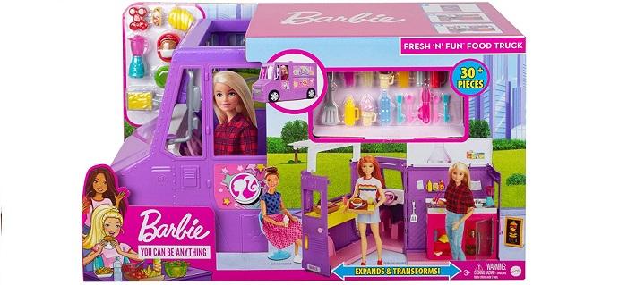 Barbie GMW07 Fresh 'n' Fun Food Truck