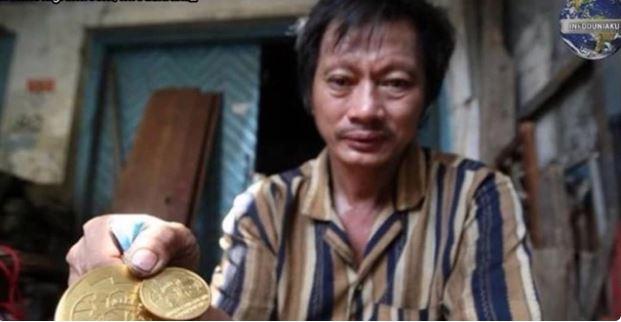 Pernah Raih 3 Medali Emas, Atlit Angkat Besi Ini Hidup Nelangsa di Hari Tua
