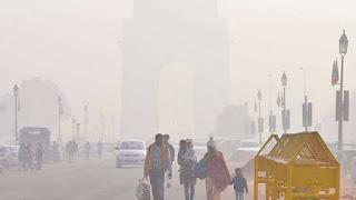 दिल्ली-NCR में शीतलहर और कोहरे की मार