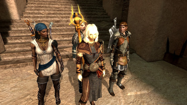 Dragon Age 2: партийная РПГ