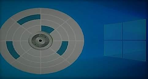 شرح الغاء تجزئة القرص الصلب في ويندوز 10