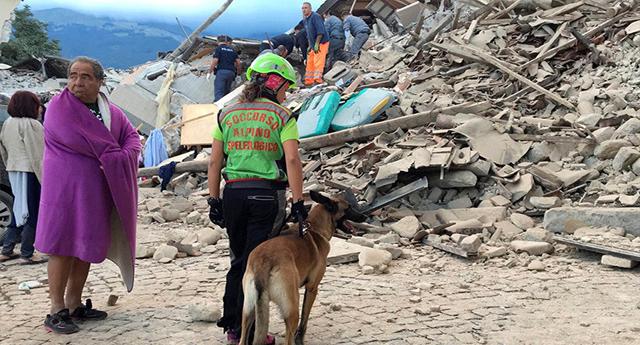 Decenas de muertos tras el terremoto de 6,2 en Italia