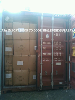 Jasa Import Door To Door Singapore-Surabaya-Bali Denpasar Indonesia