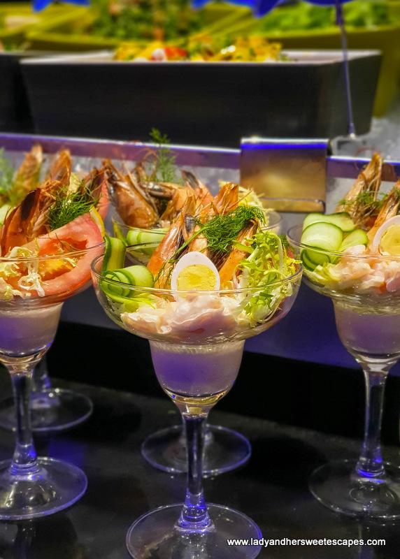 Shrimp Cocktail in Medley Pullman Dubai