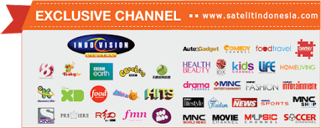 Daftar Channel Indovision Paket Lengkap Terbaru