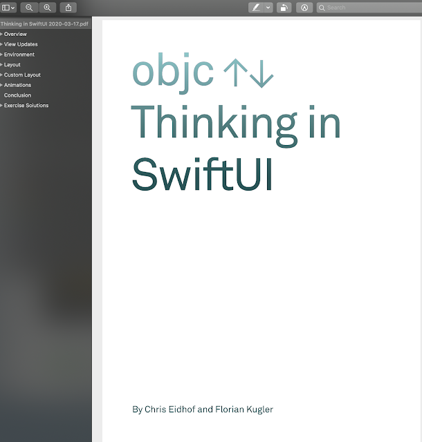 Thinking in SwiftUI - Objc.io book