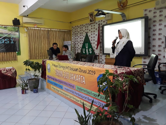 Pelatihan E-Rapor Program Sekolah Zonasi tahun 2019