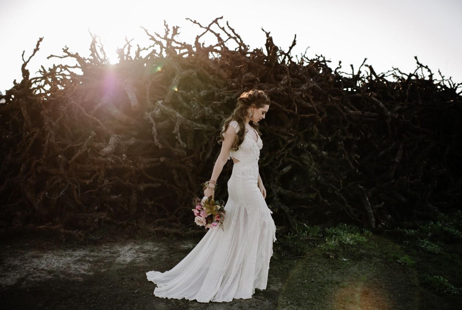 STYLED SHOOT: RICH PLUM HUES   LUXE BOHEMIAN BRIDAL INSPIRATION PERTH WA