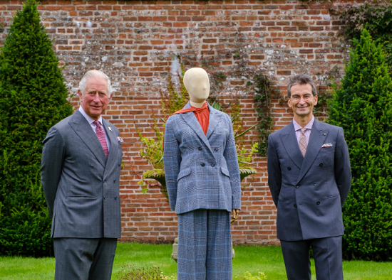 Prince Charles collaborated with Yoox Net-a-Porter