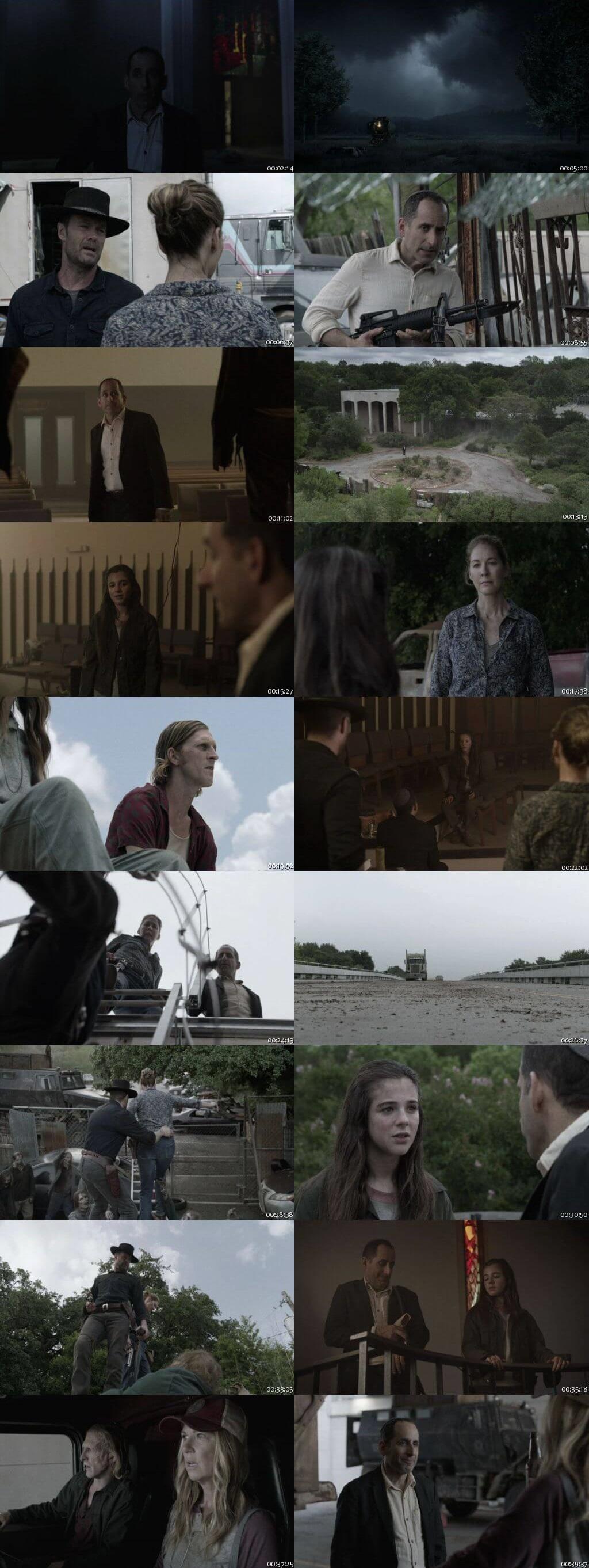 Screenshots Of English Show Fear the Walking Dead Season 05 Episode 12 2019 WEB-DL 720P 300MB