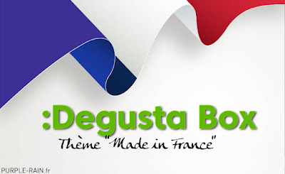 Blog PurpleRain Degusta Box de Juillet 2020 : Made in France