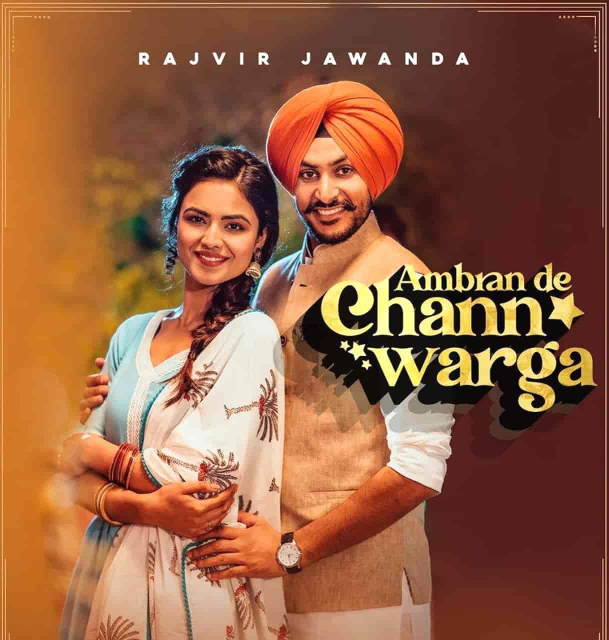 Ambran De Chann Warga Lyrics Rajvir Jawanda