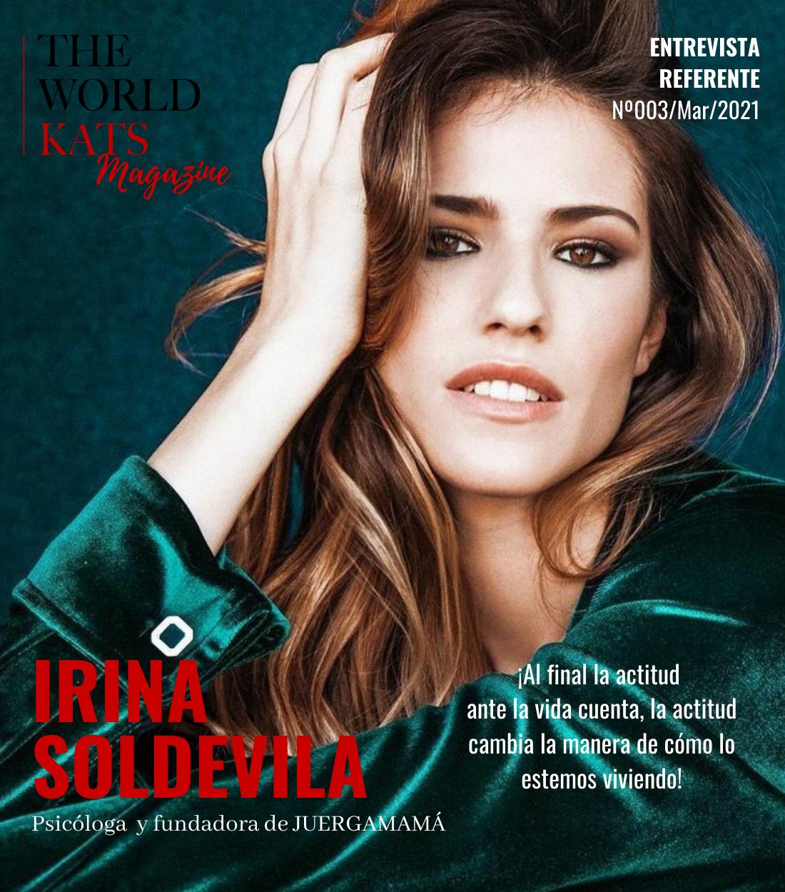 Entrevista a la influencer Irina Soldevila