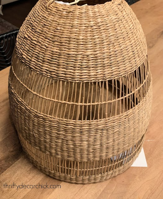 basket light pendant IKEA