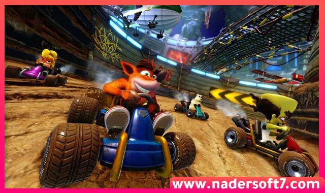 تحميل لعبة سباق كراش Crash Team Racing الاصلية للكمبيوتر