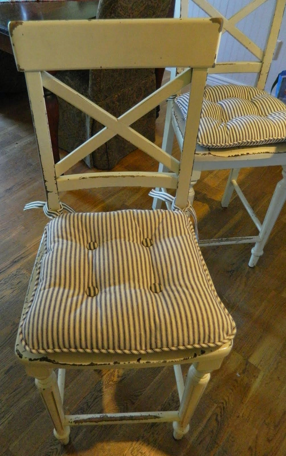 Farmhouse Kitchen Chair Cushions