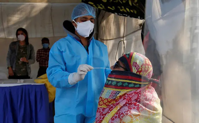 The Delta variant is dominating in India, which could lead to more re-infection than the previous strains. Photo: Reuters