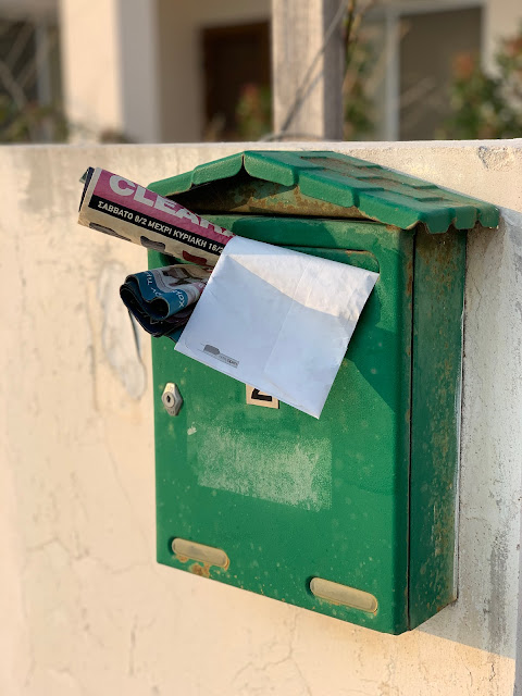Cyprus letterbox