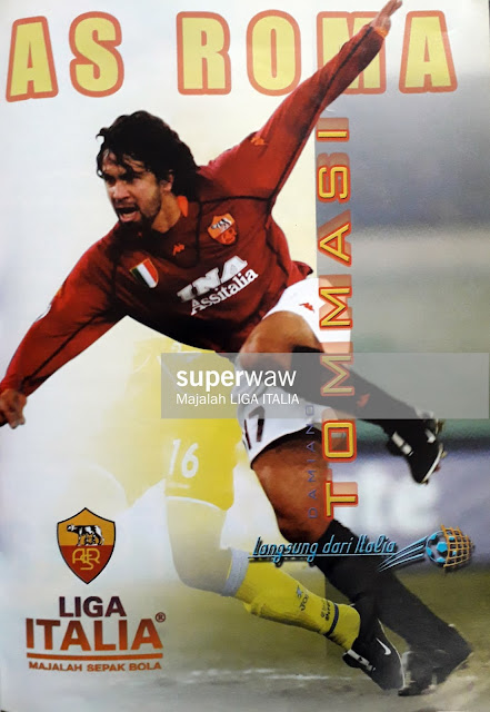 DAMIANO TOMMASI OF AS ROMA