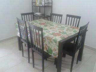 Ruang Makan Homestay di Bandar Sri Botani