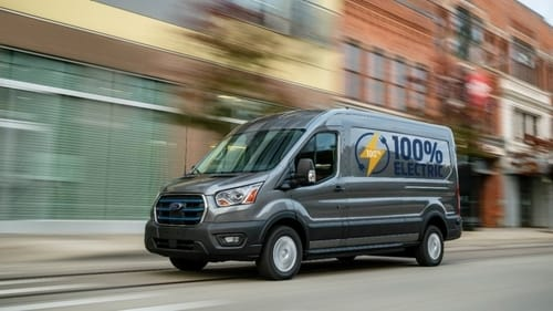 Ford launches electric E-Transit trucks