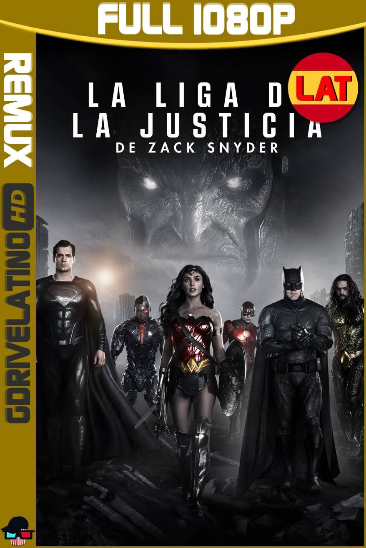 La Liga de la Justicia de Zack Snyder (2021) BDRemux 1080p Latino-Ingles MKV