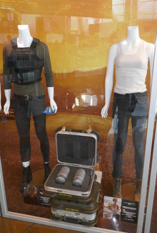 Terminator Dark Fate movie costumes props