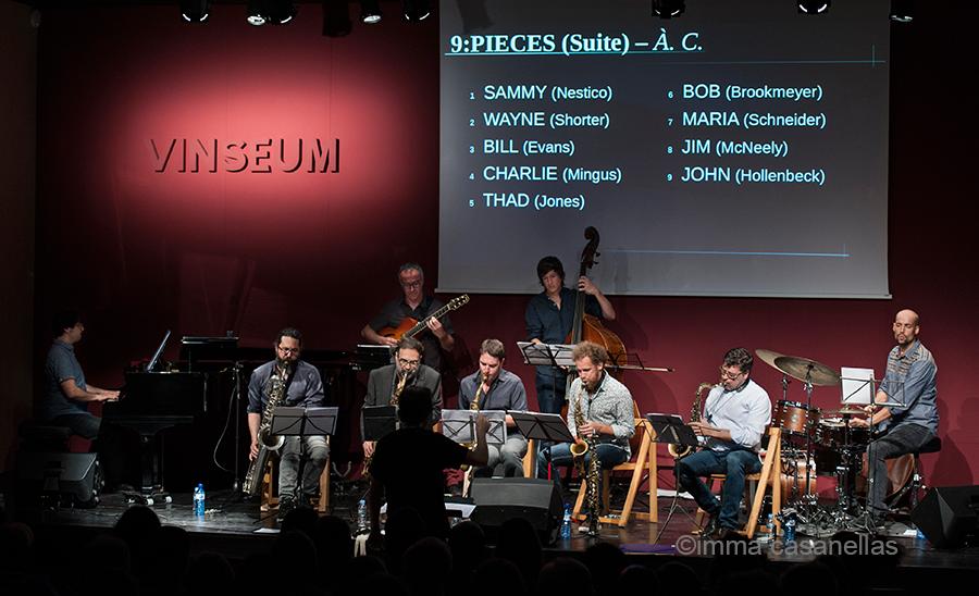 Open Jazz Collective, Auditori Vinseum, Vilafranca del Penedès, 9 de juny de 2018