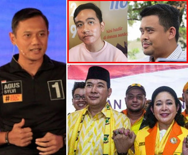 Dulu Mereka Bully AHY, Tommy, Titiek….. Sekarang Mereka Membela Dinasti Jokowi