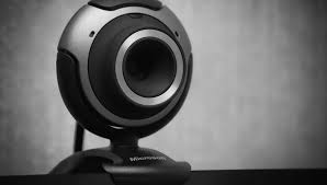 Fotografía de una webcam