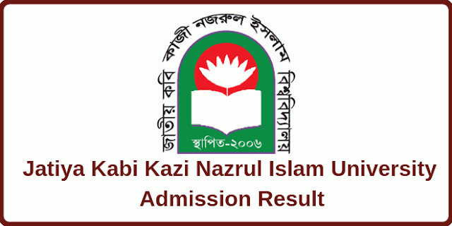 JKKNIU Admission Test Result 2019-20 Kabi Nazrul Islam University Admission Result