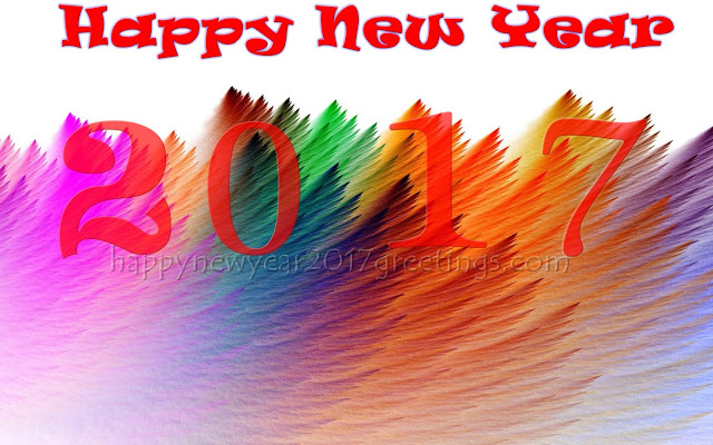 Happy New Year 2017 Colorful Background Images