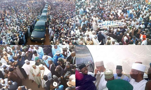 Another Important APC member dies and buried today - See Photos