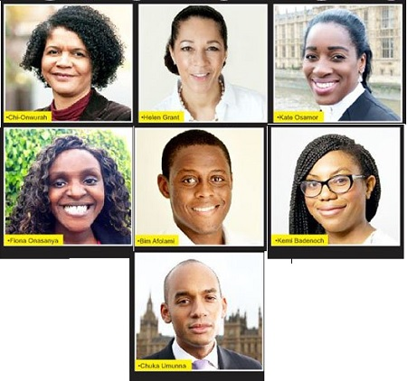 7 Nigerian elected to UK's Newly Elected Parliament