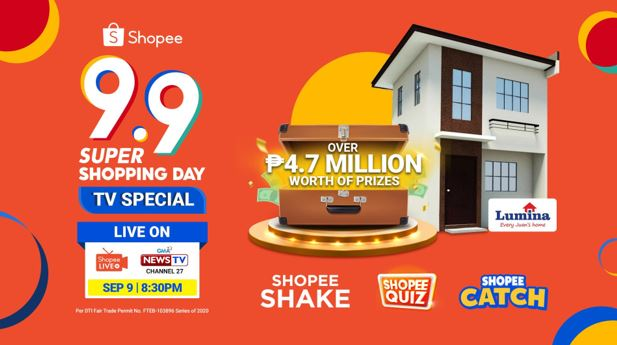 Shopee headlines 9.9 Super Shopping Day GMA News TV