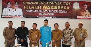Guru Olahraga Aceh Timur Dilatih Menjadi Trainer Paskibraka