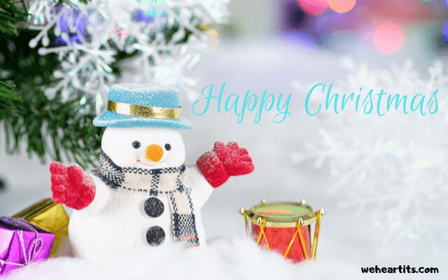 happy christmas images backgrounds