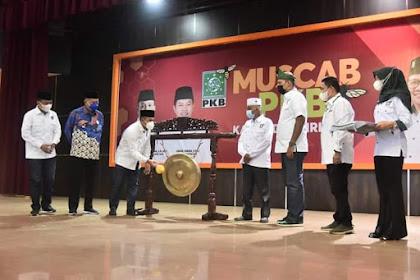 Abdul Wahid Buka Muscab ke-V DPC PKB Inhil