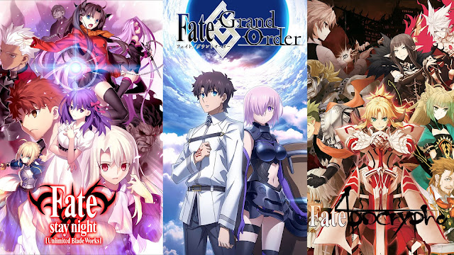 How to watch fate series in order from beginning to end