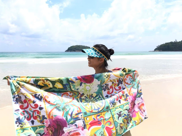 To Tuscany towel Tesalate Aussie sand free