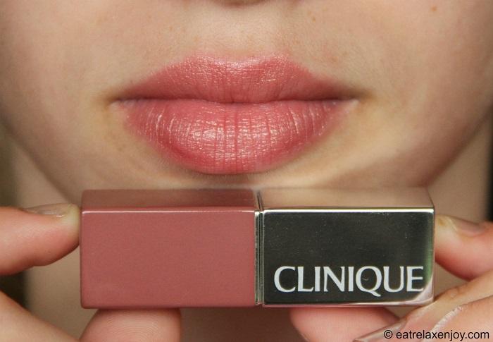 אתר חדש לקליניק ושפתון חדש Clinique Pop