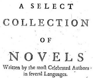 A Select Collection of Novels