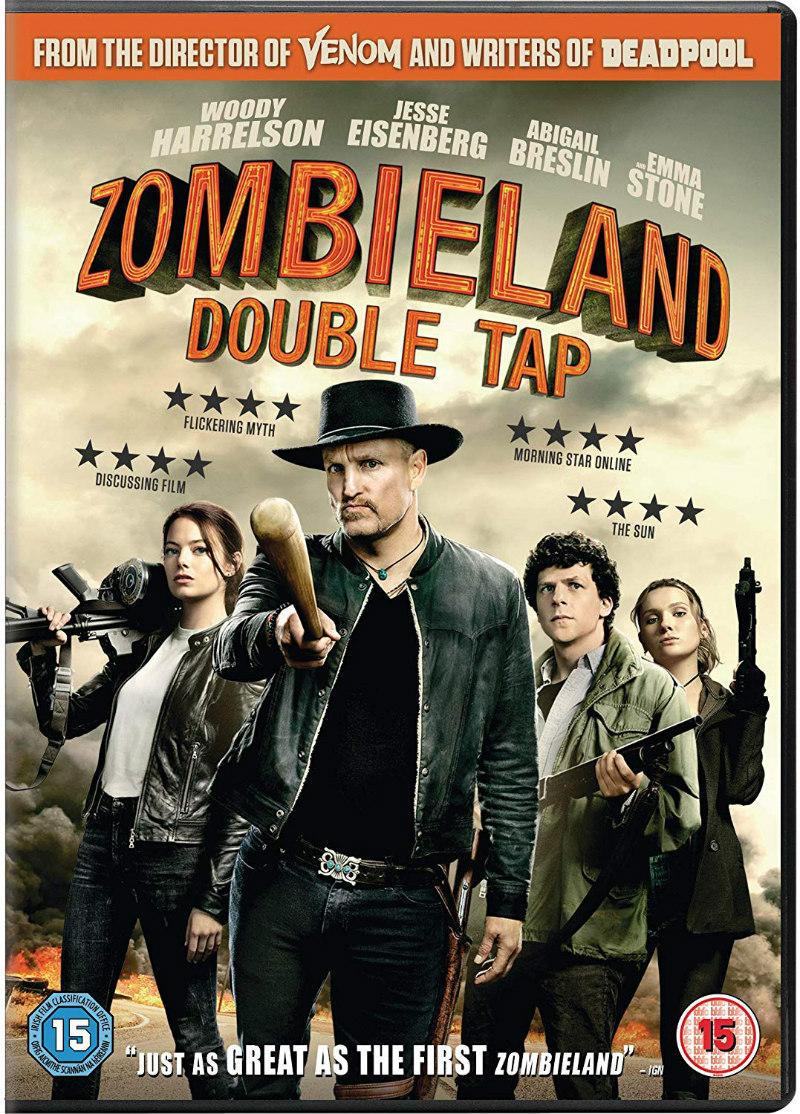 zombieland double tap dvd